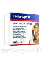 LEUKOTAPE K Sparadrap noir 5cmx5m à Talence