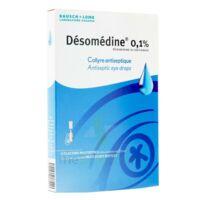 DESOMEDINE 0,1 % Collyre sol 10Fl/0,6ml à Talence