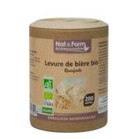 Nat&form Eco Responsable Levure De Bière Bio Gélules B/200 à Talence
