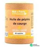 Nat&form Eco Responsable Huile De Pépins De Courge Caps B/60 à Talence