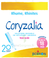 Boiron Coryzalia Solution Buvable Unidose B/20 à Talence