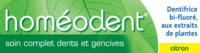 Boiron Homéodent Soin Complet Dents Et Gencives Pâte Dentifrice Citron T/75ml à Talence