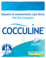Boiron Cocculine Comprimés Orodispersibles B/40 à Talence