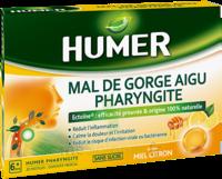 Humer Pharyngite Pastille mal de gorge Miel citron B/20 à Talence